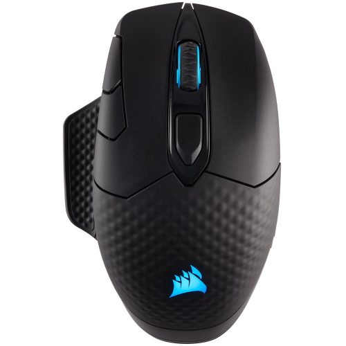 MOUSE CORSAIR OPTICO DARK CORE RGB WIRELESS-USB GAMING 2.4GH